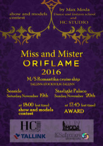 Miss and Mister Oriflame 2016